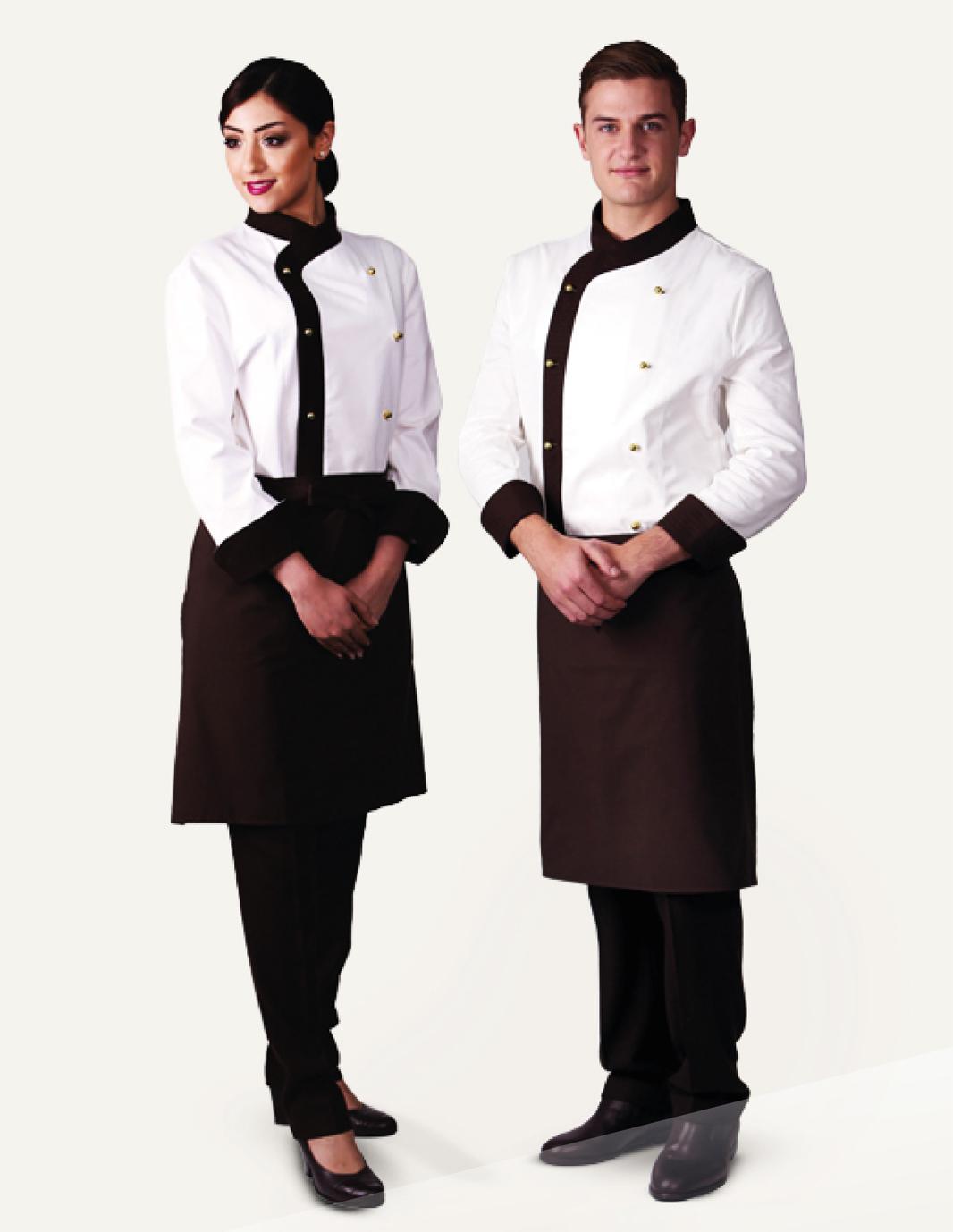 Ayudantes de cocina uniformes amarillo uno - Uniformes de cocina ...